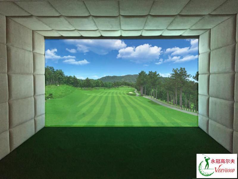 山西富尔顿别墅室内高尔夫项目