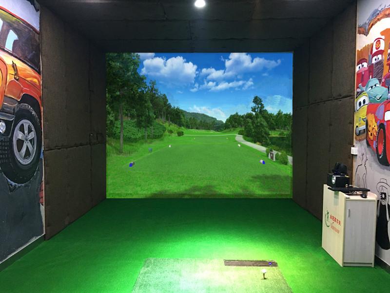 深圳路德车邦4S店室内高尔夫项目