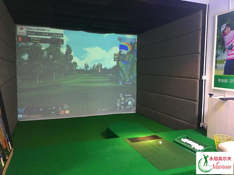 广东东莞塘厦青虎室内高尔夫项目