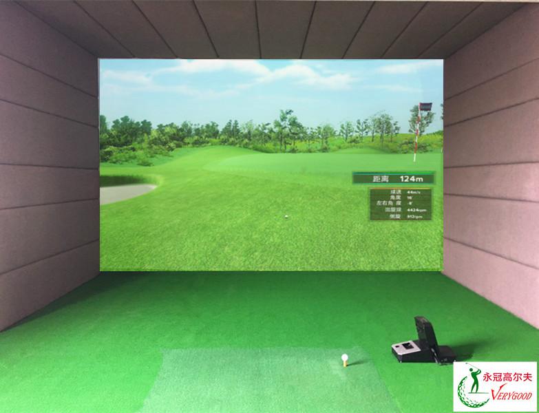 广东东莞寮步室内高尔夫项目