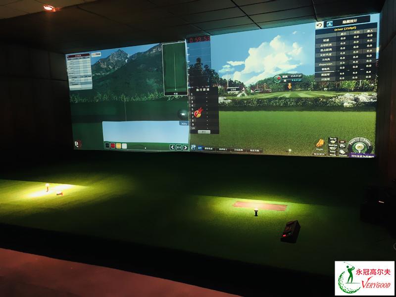 浙江嘉兴郑总会所室内高尔夫项目