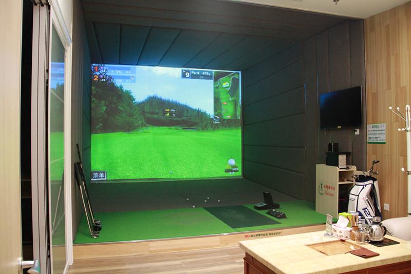 广东东莞永冠室内高尔夫学院单屏项目三