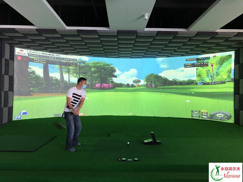 廣東惠州投資公司室內高爾夫項目