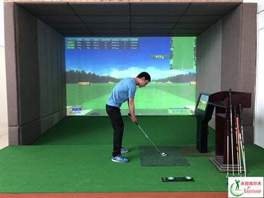 广东东莞服饰公司室内高尔夫项目