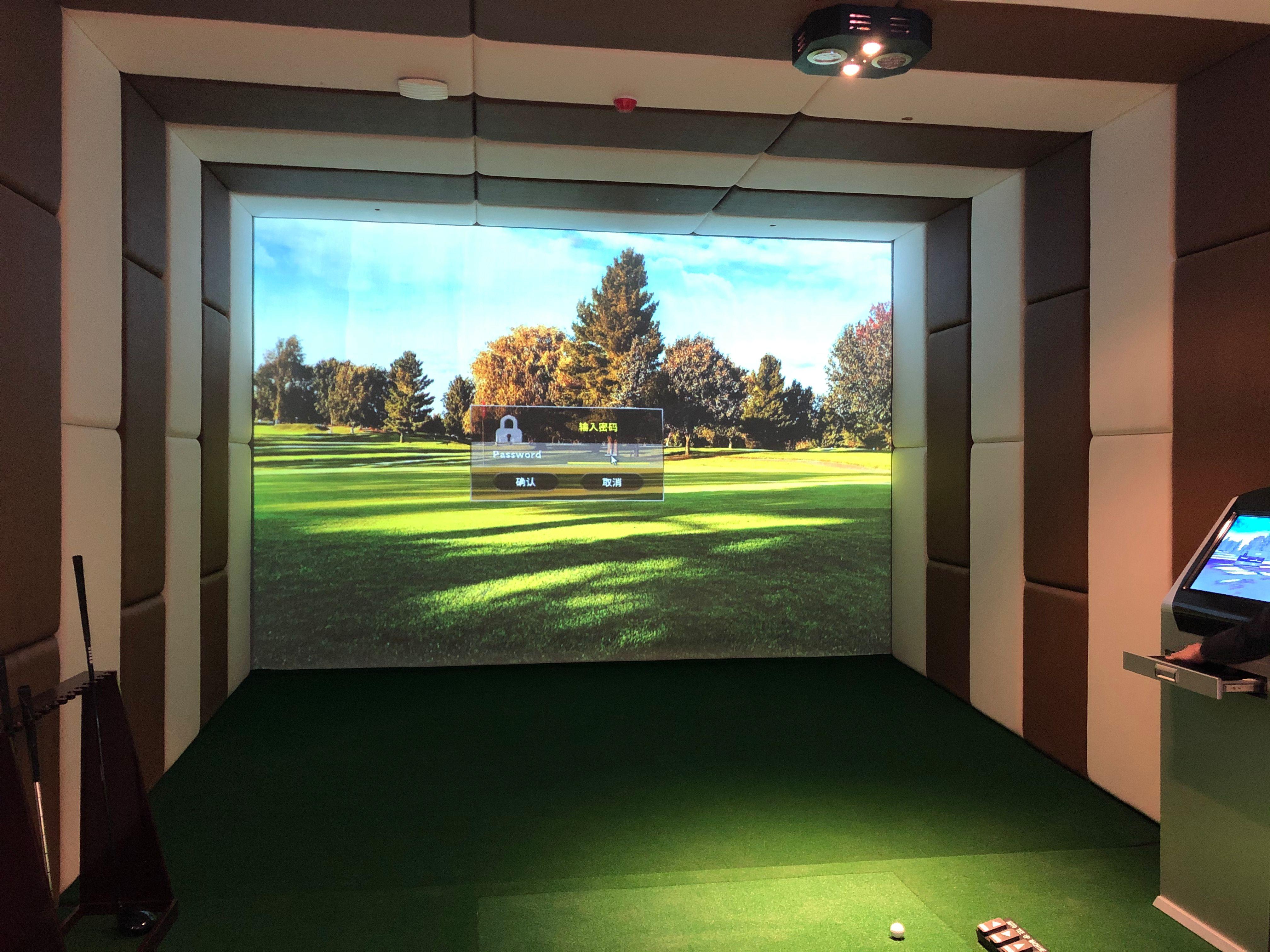广东中山恒泰建设室内高尔夫项目