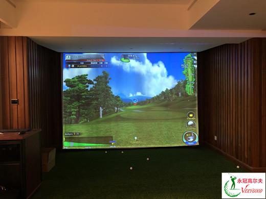 广东东莞中信森林湖室内高尔夫项目