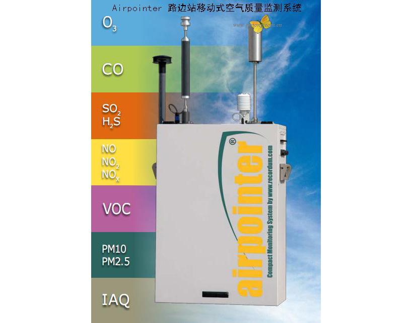 Airpointer-路边站移动式空气质量监测系统