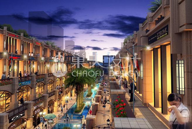 """南江县红塔新区""""秀水大街""""策划设计方案"""