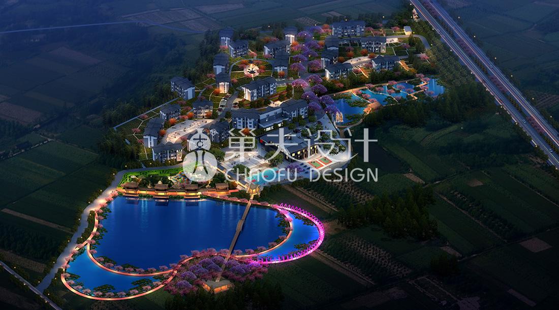 公义镇新桥村田园研学社区整体策划设计