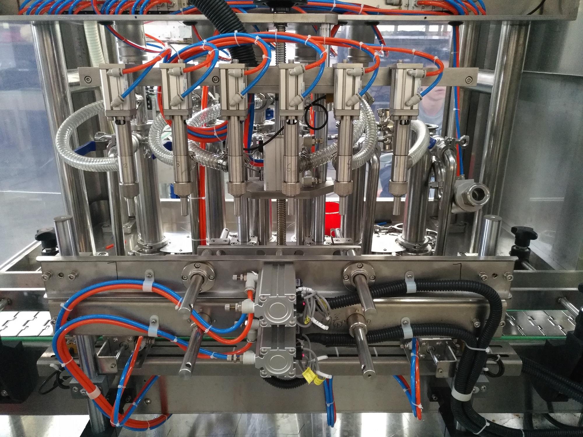 SCZH-6AS六头直线式全自动浓酱灌装机(伺服)