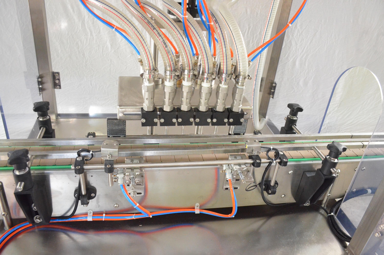 SCZ-6L型六头直线常压式全自动液体灌装机