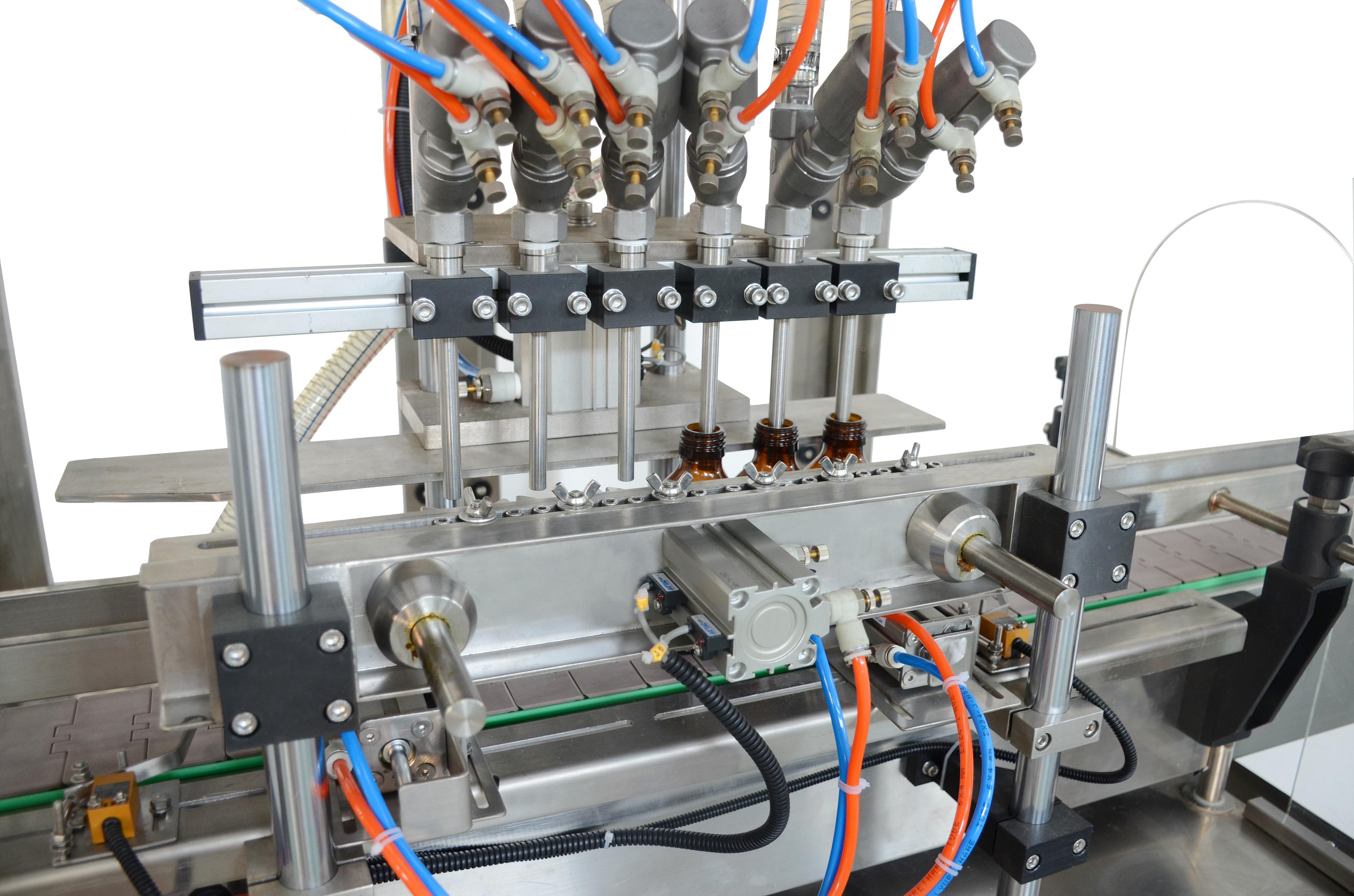 SCZ-6YP六头全自动油品灌装机