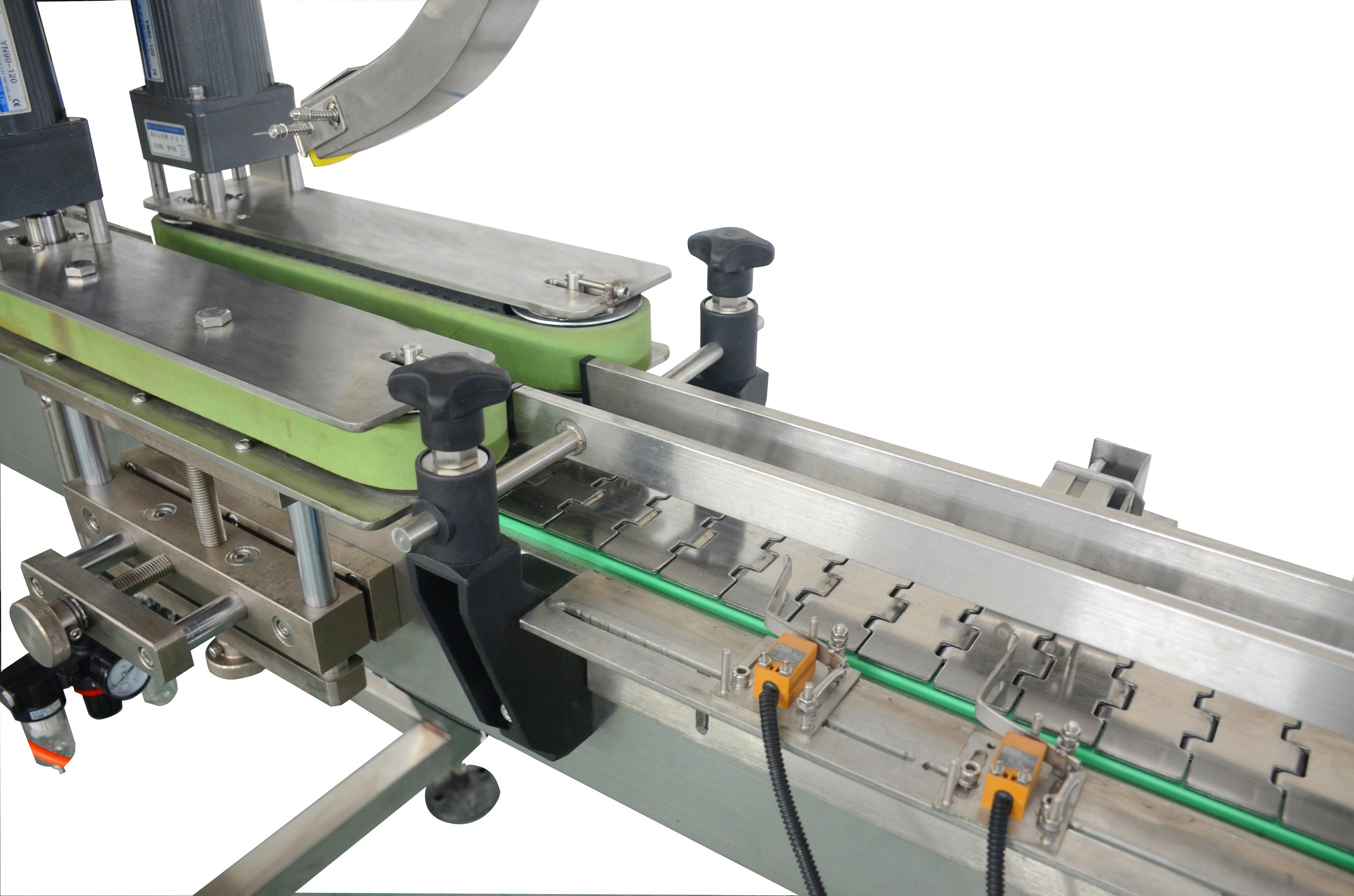 直线式全自动压盖机