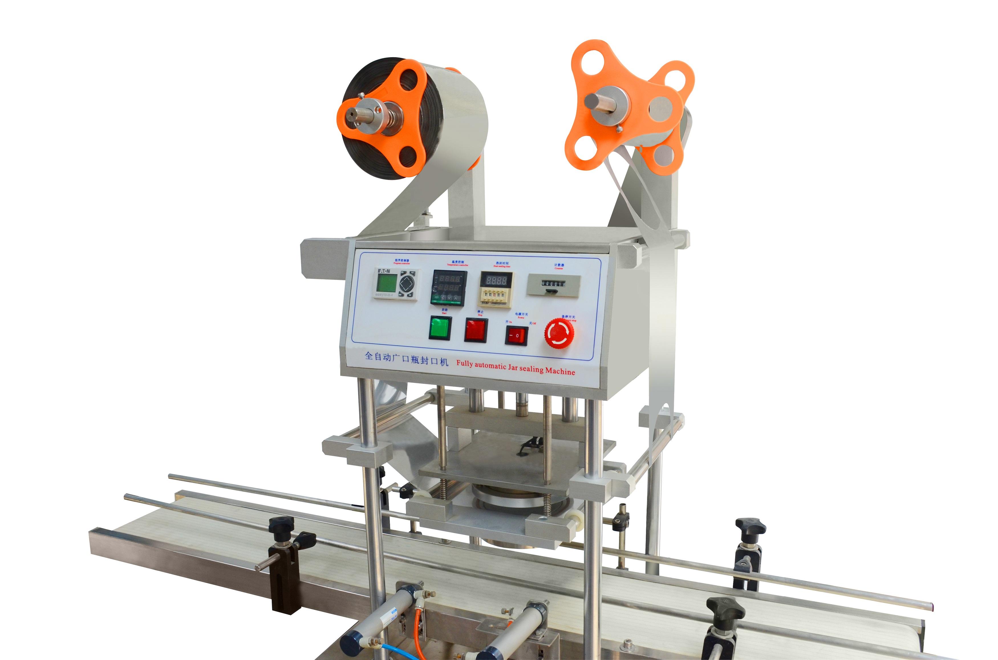 SCRF-I-A单头全自动广口瓶封口机