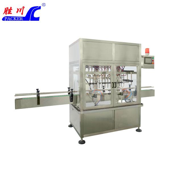 SCZ-12L型十二头直线常压式全自动液体灌装机