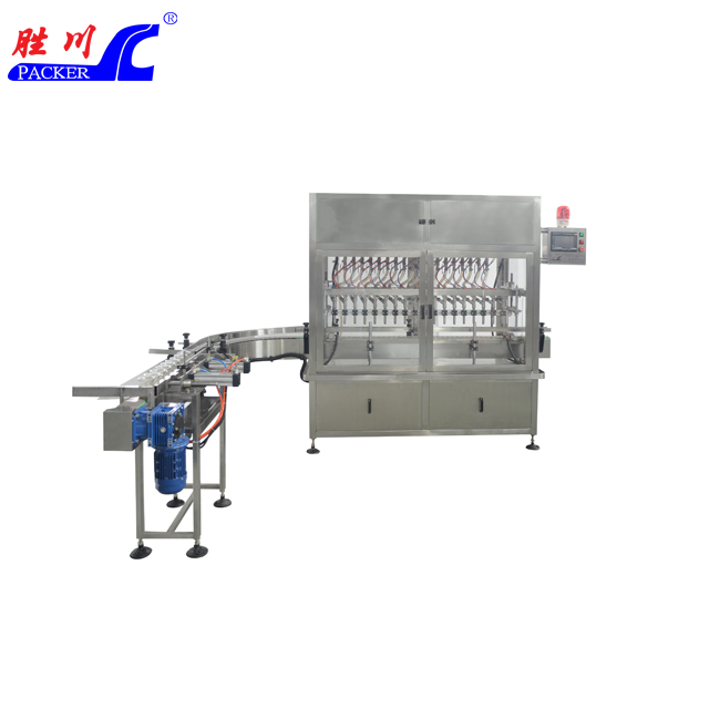 SCZ-16 十六头直线常压式全自动液体灌装机