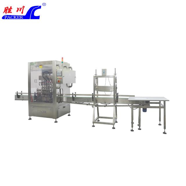 时产2500-3000瓶小磨香油灌装、压盖生产线
