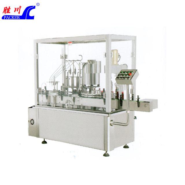 SCGX-4-1A 全自動醬料灌裝和旋蓋一體機