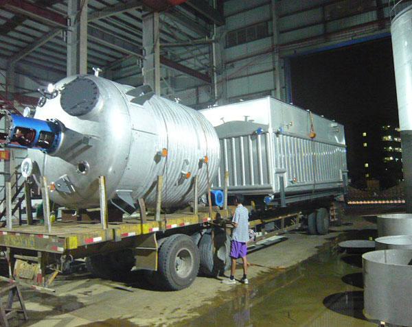 15M3反應釜與冷卻槽