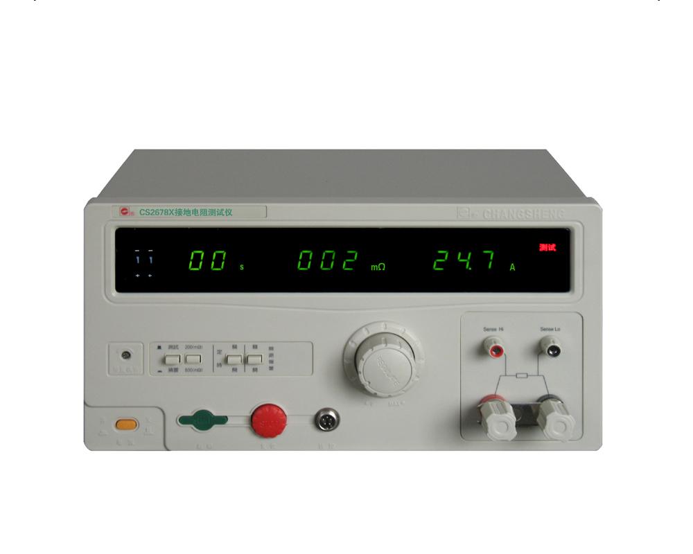 CS2678接地电阻测试仪