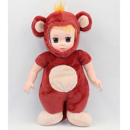 Кукла в одежде животных С длиными рукавами 14