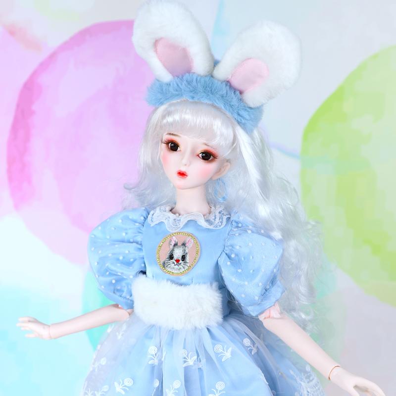 德必胜娃娃60cm关节娃娃3分女娃bjd生日礼物女孩玩具娃娃可改换装