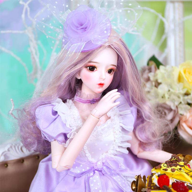 德必胜娃娃梦幻系列苏格娃娃60cm关节娃娃3分女娃复古洛丽塔换装