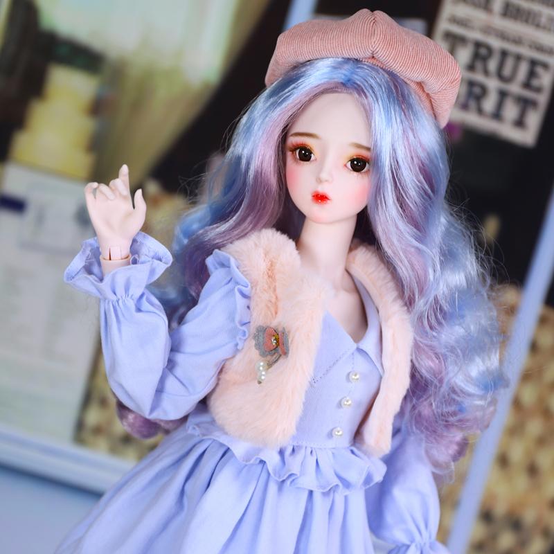 德必胜娃娃3分娃娃优然冬装60cm关节娃娃bjd可改妆换装玩具娃娃