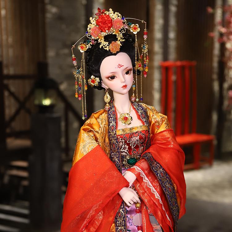古风系列-杨贵妃(红色)