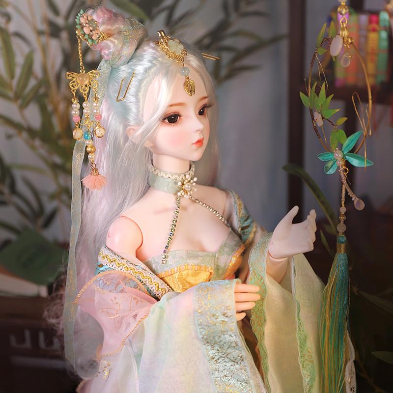 古装娃娃 三国孙尚香 3分女娃