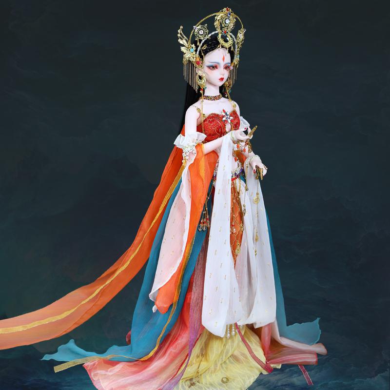 高定九天玄女 神话古装娃娃