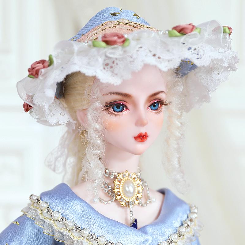 高定 伊莎贝拉 3分女娃 欧式复古娃娃