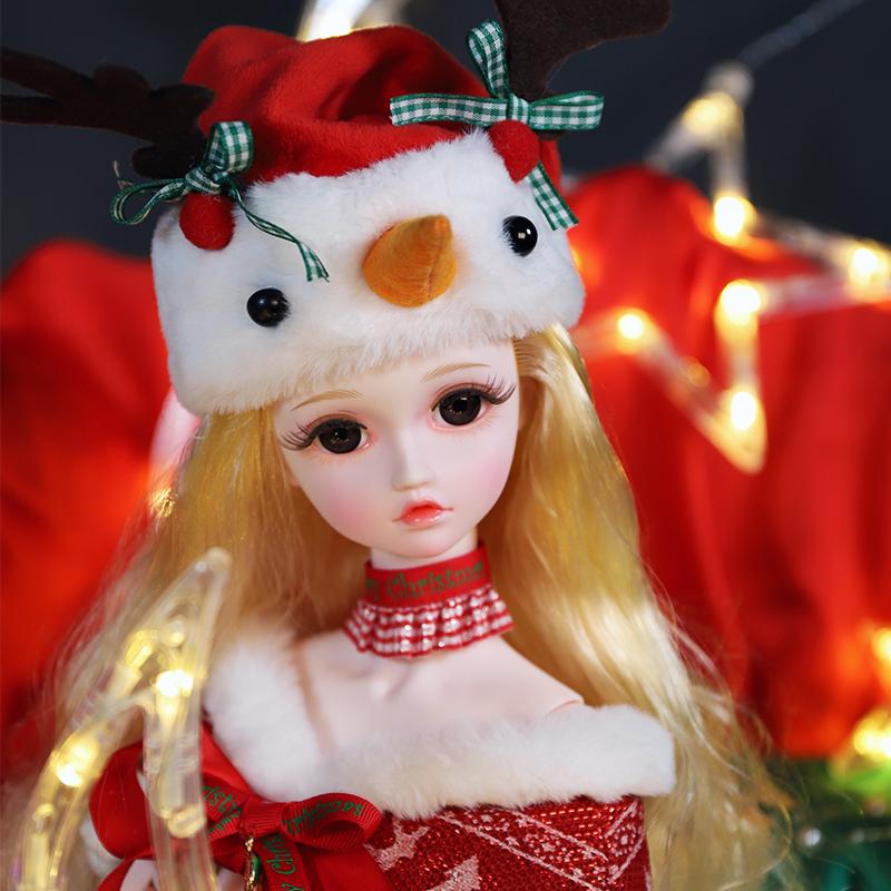 3分bjd圣诞礼物定制款菲琳儿
