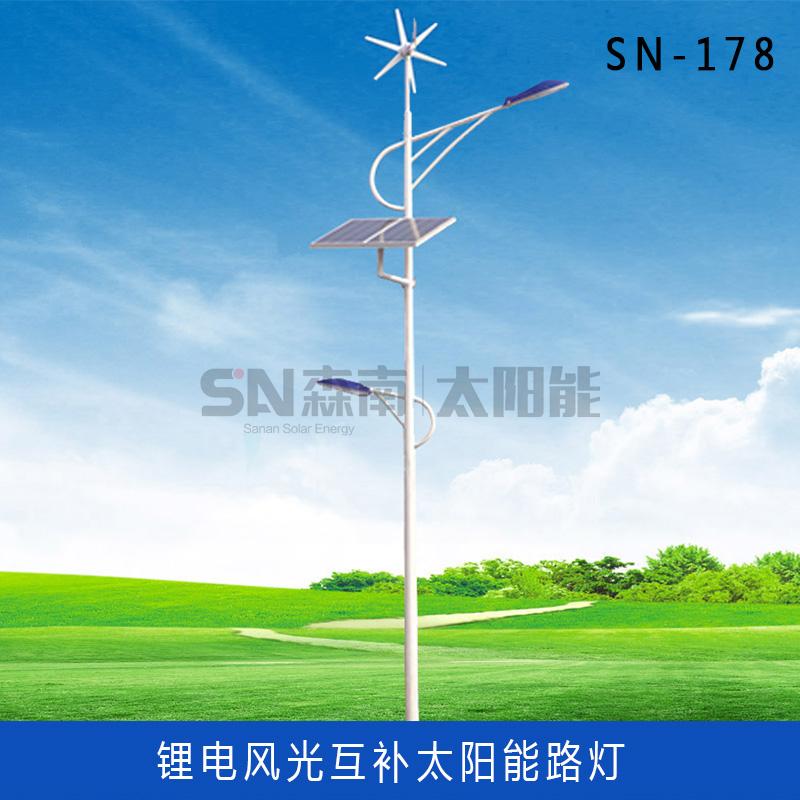 双头风光互补太阳能路灯 (8)