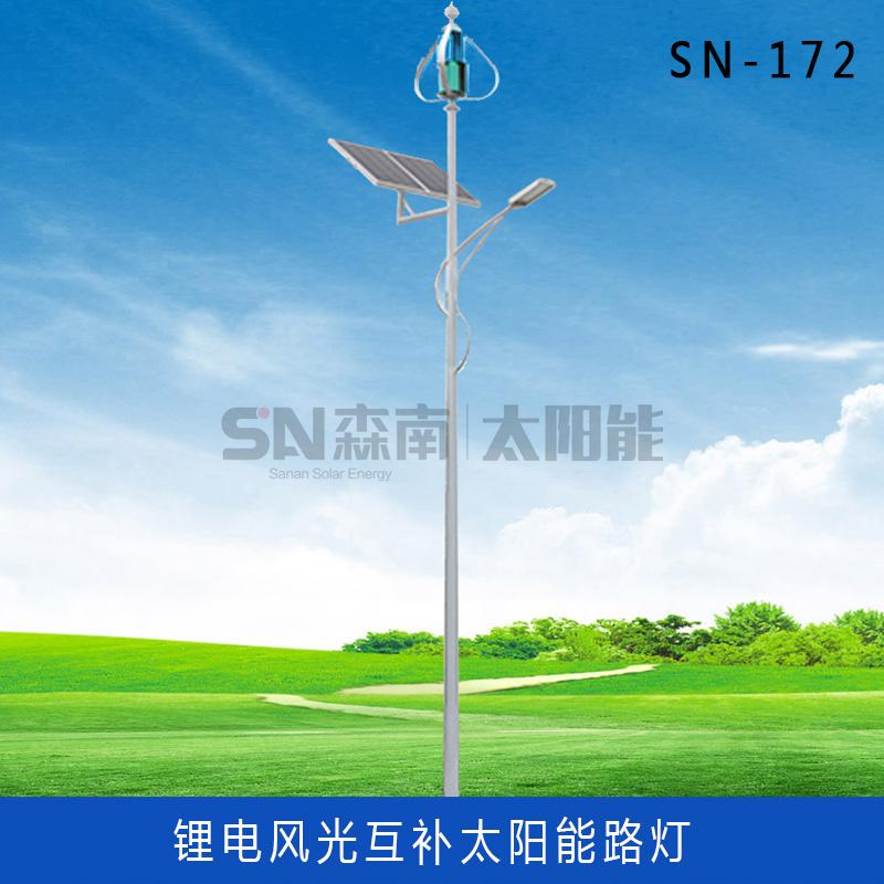 风光互补太阳能路灯 (2)