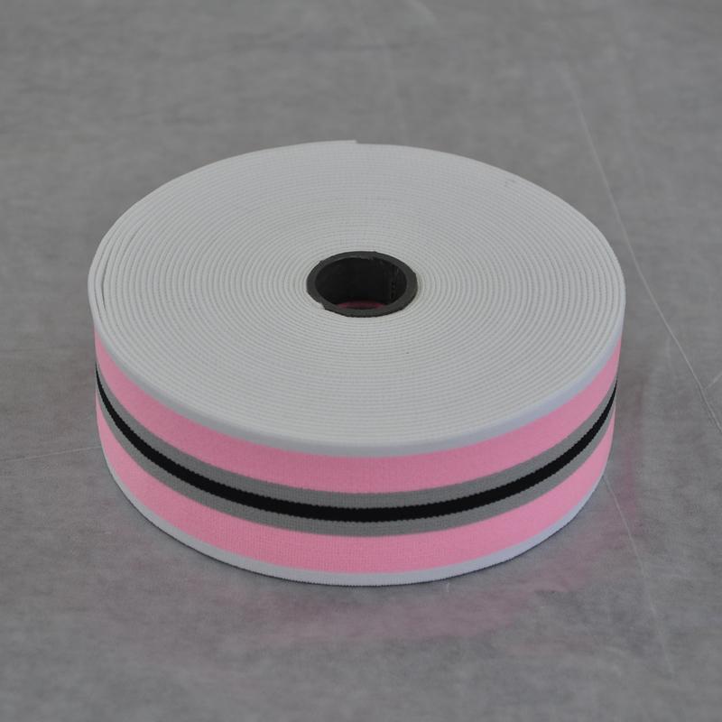 白粉黑间色带