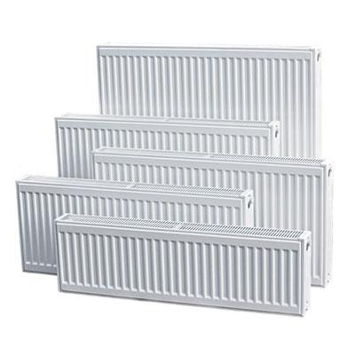 Compact panel radiator