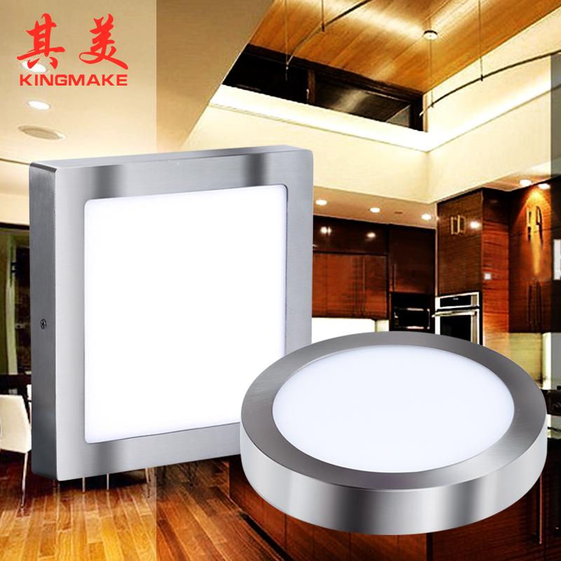 LED paneli light(Satin nickel)