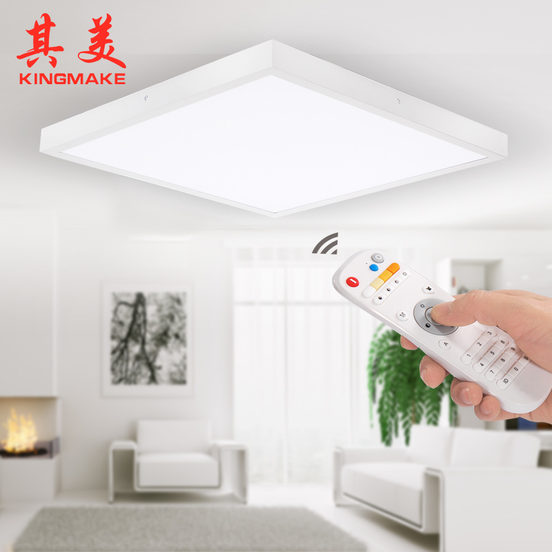 2.4G CCT dimmable surface mounted LED panel light