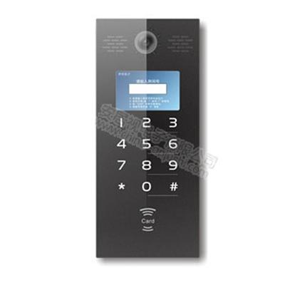 模擬可視對講AJS-99系統-彩色/黑白可視對講主機-可視刷卡主機
