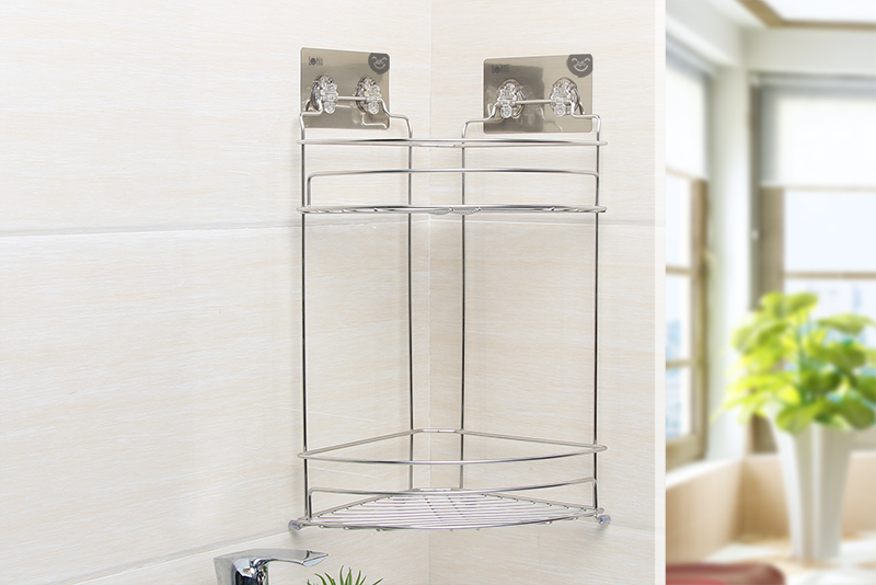 LT-82416 Dual Tier Corner Shelf