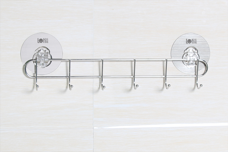 LT-82417 Hook Rack With 6 Hooks