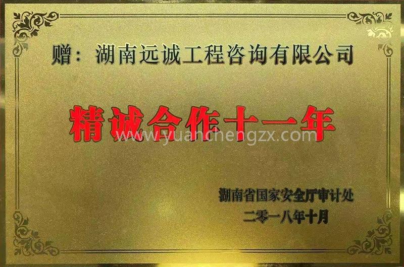 """湖南省国家安全厅""""精诚合作十一年"""""""