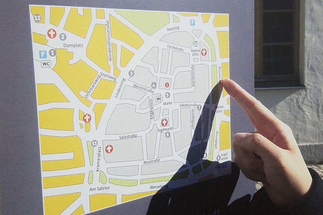 淄姆堡老城區記憶導視系統