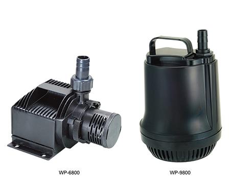Amphibious submersible pump
