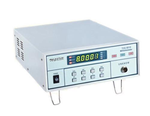 TOS8010微電阻測試儀