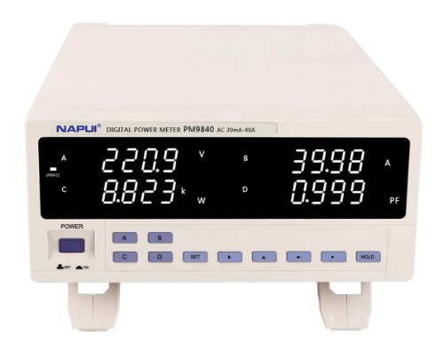 PM9840电参数测量仪大功率型(40A)