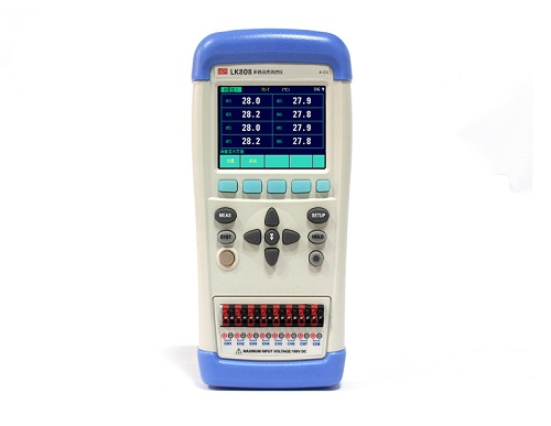 LK802/LK804/LK808手持式多路温度测试仪