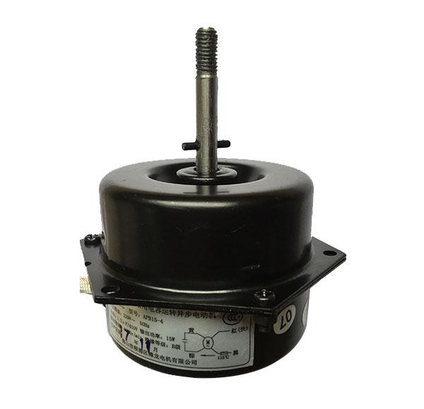 Fully enclosed negative ion fan motor