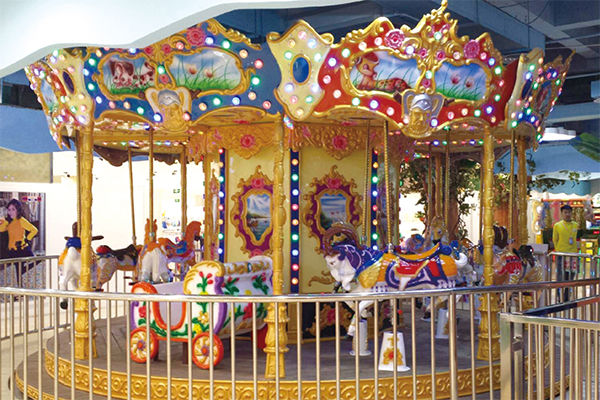 16 people court carousel